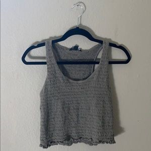 Scrunched tank